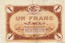 1 Franc FRANCE régionalisme et divers Nevers 1920 JP.090.19 pr.TTB