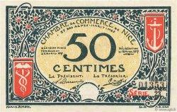 50 Centimes FRANCE régionalisme et divers Nice 1917 JP.091.04 pr.NEUF