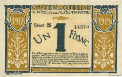 1 Franc FRANCE régionalisme et divers Nice 1917 JP.091.05 TB