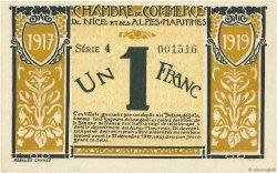 1 Franc FRANCE régionalisme et divers NICE 1917 JP.091.05 SUP+