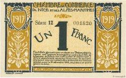 1 Franc FRANCE régionalisme et divers NICE 1917 JP.091.05 pr.NEUF