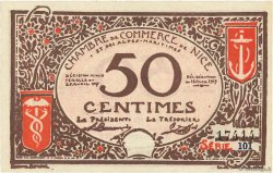 50 Centimes FRANCE regionalism and various Nice 1917 JP.091.06 aAU