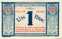 1 Franc FRANCE régionalisme et divers NICE 1917 JP.091.07 SUP+