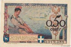 50 Centimes FRANCE régionalisme et divers Nice 1920 JP.091.09 TTB