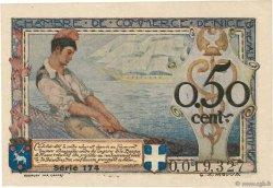 50 Centimes FRANCE régionalisme et divers Nice 1920 JP.091.09 TTB+