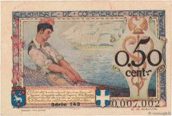 50 Centimes FRANCE régionalisme et divers Nice 1920 JP.091.09 SUP