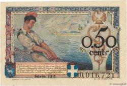 50 Centimes FRANCE régionalisme et divers NICE 1920 JP.091.09 pr.SPL