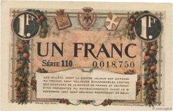 1 Franc FRANCE régionalisme et divers NICE 1920 JP.091.11 pr.TTB