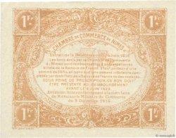 1 Franc FRANCE régionalisme et divers NÎMES 1915 JP.092.15 SUP+