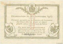 1 Franc FRANCE régionalisme et divers Niort 1915 JP.093.03 TTB+