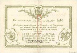 1 Franc FRANCE régionalisme et divers Niort 1916 JP.093.08 TTB+