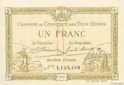 1 Franc FRANCE régionalisme et divers NIORT 1916 JP.093.08 pr.NEUF