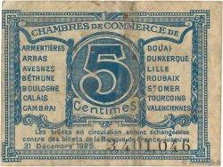 5 Centimes FRANCE régionalisme et divers Nord et Pas-De-Calais 1918 JP.094.01 pr.TB