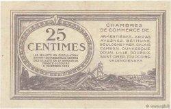25 Centimes FRANCE régionalisme et divers NORD et PAS-DE-CALAIS 1918 JP.094.03 TTB