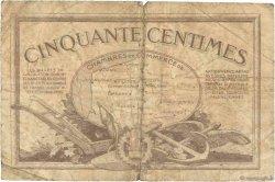 50 Centimes FRANCE régionalisme et divers Nord et Pas-De-Calais 1918 JP.094.04 B+