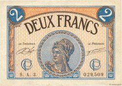 2 Francs FRANCE régionalisme et divers PARIS 1920 JP.097.28 TB