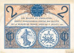 2 Francs FRANCE régionalisme et divers Paris 1920 JP.097.28 SPL