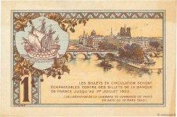 1 Franc FRANCE régionalisme et divers PARIS 1920 JP.097.36 SPL