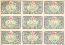 1 Franc FRANCE régionalisme et divers SAINT-DIE 1920 JP.112.20var.