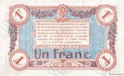 1 Franc FRANCE régionalisme et divers TROYES 1918 JP.124.14 TTB+