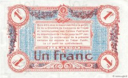 1 Franc FRANCE régionalisme et divers TROYES 1918 JP.124.14 NEUF