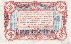 50 Centimes FRANCE régionalisme et divers Troyes 1918 JP.124.13 SPL+