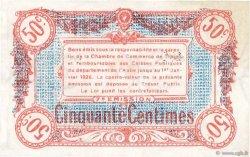 50 Centimes FRANCE régionalisme et divers Troyes 1918 JP.124.13 pr.NEUF