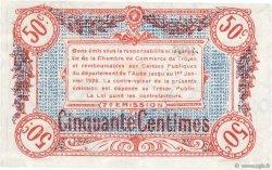 50 Centimes FRANCE régionalisme et divers Troyes 1918 JP.124.13 NEUF