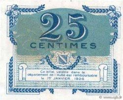 25 Centimes FRANCE régionalisme et divers Troyes 1918 JP.124.15 SPL+