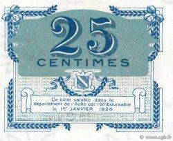 25 Centimes FRANCE régionalisme et divers Troyes 1918 JP.124.15 pr.NEUF