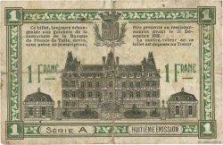 1 Franc FRANCE régionalisme et divers Tulle et Ussel 1918 JP.126.03 B+