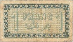 1 Franc FRANCE régionalisme et divers ALGER 1914 JP.137.04 pr.TB