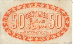 50 Centimes FRANCE régionalisme et divers ALGER 1915 JP.137.05 pr.TTB