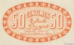 50 Centimes FRANCE régionalisme et divers ALGER 1915 JP.137.05 pr.NEUF