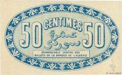 50 Centimes FRANCE régionalisme et divers Alger 1915 JP.137.08 TTB+