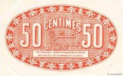 50 Centimes FRANCE régionalisme et divers Alger 1921 JP.137.19 SUP