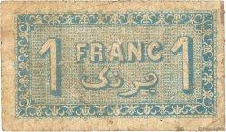 1 Franc FRANCE régionalisme et divers Alger 1921 JP.137.20 B