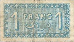 1 Franc FRANCE régionalisme et divers ALGER 1922 JP.137.24 TB