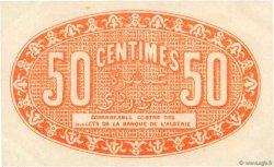 50 Centimes FRANCE régionalisme et divers Alger 1923 JP.137.25 SUP+