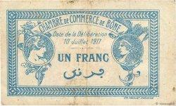 1 Franc FRANCE régionalisme et divers Bône 1917 JP.138.05 TB+