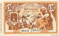 50 Centimes FRANCE régionalisme et divers BÔNE 1919 JP.138.08 SUP