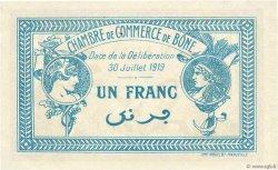 1 Franc FRANCE régionalisme et divers Bône 1919 JP.138.10 SUP+