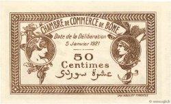 50 Centimes FRANCE régionalisme et divers BÔNE 1921 JP.138.14 SUP+
