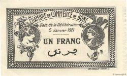 1 Franc FRANCE régionalisme et divers BÔNE 1921 JP.138.15 SUP+