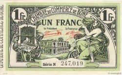 1 Franc FRANCE régionalisme et divers BÔNE 1921 JP.138.19 SUP