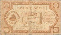 50 Centimes FRANCE régionalisme et divers BOUGIE, SETIF 1915 JP.139.01 B+