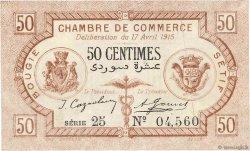50 Centimes FRANCE régionalisme et divers Bougie, Sétif 1915 JP.139.01 SUP
