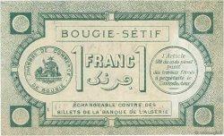 1 Franc FRANCE régionalisme et divers Bougie, Sétif 1915 JP.139.02 TTB+