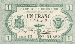 1 Franc FRANCE régionalisme et divers Bougie, Sétif 1915 JP.139.02 SUP+