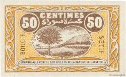 50 Centimes FRANCE régionalisme et divers Bougie, Sétif 1918 JP.139.03 SUP+